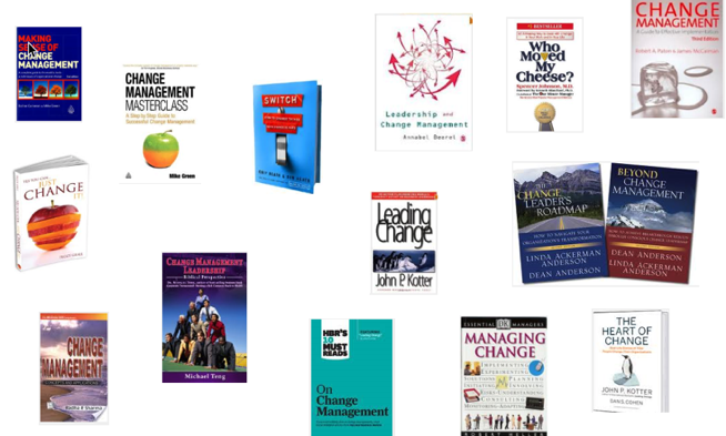 Change Management Books